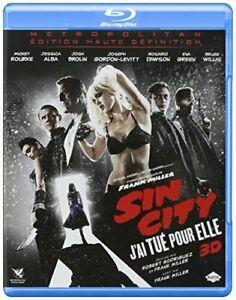 """BLU RAY 3 D  """"Sin city 2 : j'ai tué pour elle""""  3D et 2D    NEUF SOUS BLISTER"""