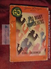 Too Many Murderers GEORGE CHILDERNESS Green Dragon Books