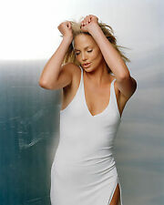 CHARLIZE THERON 8X10 PHOTO PICTURE PIC HOT SEXY SEE THROUGH DRESS 37