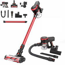 MOOSOO K17U Cordless Vacuum Cleaner 17Kpa 2 in 1 Stick Vacuum Multi-attachments