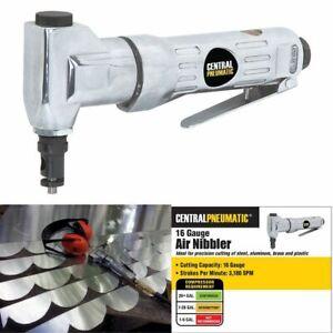 AIR NIBBLER 16 Gauge High Speed Lightweight Sheet Metal Fabrication Cutting Tool