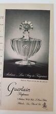 1954 Guerlain Shalimar Parfum Bouteille Love Song en Parfum Annonce
