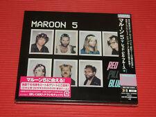2018 JAPAN 2CD SET MAROON 5 RED PILL BLUES + (PLUS)