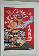 "Dale Earnhardt ""Black Gold"" Sam Bass Print #449 Of 1200 Made  22"" X30.5"""