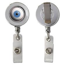 Eyeball - Eyes On You Retractable Reel Chrome Badge ID Card Holder