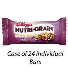Kellogg's nutri-grain COLAZIONE Bakes Raisin 24 x 45g BARRETTE 226769 all' ingrosso