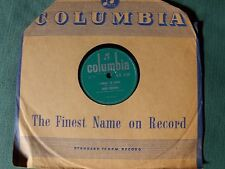 RUBY MURRAY: Please hold me tightly / I know I'm home 78 rpm COLUMBIA D.B. 3750