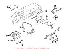 For BMW Genuine Instrument Panel Molding 51452991701