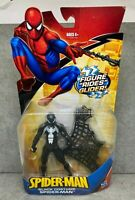 "Marvel Legends 6"" Spider-Man Classics Black Suit Glider 2008 Figure Hasbro"