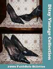 FaithSolo black stud stilettos - Ditsy Vintage 90s 39 5 6