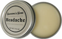 Headache Relief Salve by Grandma's Home Natural Solution Migraine and Headache