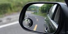 2x specchio convesso Blind Spot Traino Inversione Di Guida Autoadesivo Auto Van Bici