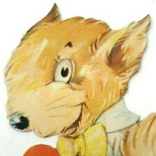 1930s adorable anthropomorphic squirrel in clothes valentine