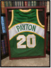Seattle SuperSonics Jersey ✎SIGNED🏀 by GARY PAYTON New PSA/DNA NBA Legend Glove