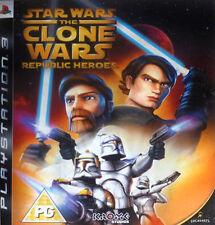 Star Wars: The Clone Wars - Republic Heroes (Sony PlayStation 3, 2009)