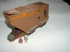 Star Wars Action Fleet JAWA SANDCRAWLER  w/ figures ANH E IV  Galoob   320