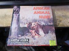 vintage Super 8 movie reel African Animal Hunt
