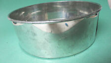 Vintage circular cake pan baking kitchen spring form cookware removable bottom