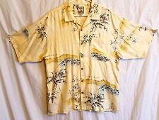Tommy Bahama Men's Large Hawaiian Camp Shirt 100% Silk EUC # 267A