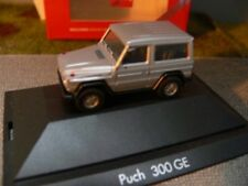 1/87 Herpa MB Puch 300 GE silber PC Box