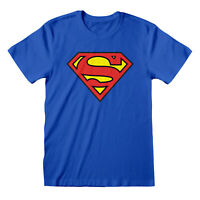 DC Comics Superman Classic Logo Men's T-Shirt | Official Merchandise