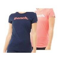 Ladies Bench Cotton Comfortable Short Sleeve Jersey T Shirt Sizes from 8 to 16
