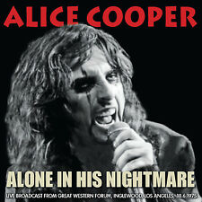 ALICE COOPER New Sealed 2018 UNRELEASED LIVE 1975 LOS ANGELES CONCERT CD