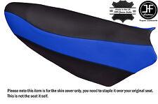 BLACK & ROYAL BLUE VINYL CUSTOM FITS YAMAHA NYTRO 08-14 FX MTX XEX SE SEAT COVER