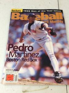 Beckett Baseball Magazine Monthly Price Guide Pedro Martinez December 1999