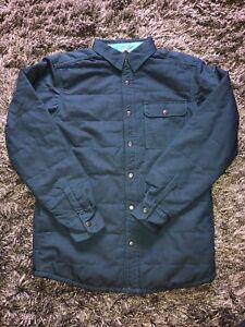 NWT Mountain Hardwear Yuba Pass Fleece Lined Shacket Jacket Phoenix Blue