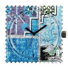 S.T.A.M.P.S. Stamps  Uhr Zifferblatt Well Grounded - frogman