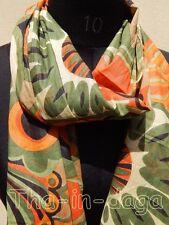 Foulard Pareo 100% Coton Imprime 50x170cm 50g Hippie Chic Long Etroit Inde  9x2 e1a4a1459d9