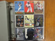 Lot of  500  VLADIMIR GUERRERO Baseball Cards(1996-2012/in Notebook/clear sheets