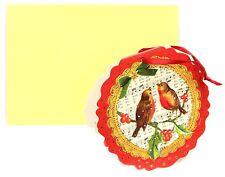 Mini Advent Calendar Christmas Card Decoration - Robins