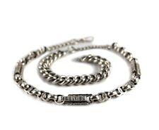 Sterling Silver Watch Chain / Necklace Charles Daniel Broughton Birmingham