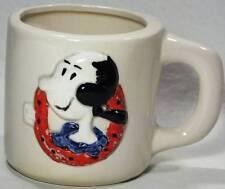 Vintage Coffee Tea Mug 3D Olive Oyl 1960s