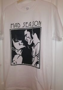 Mad Season Above T Shirt Music Grunge Rock Alice In Chains Screaming Trees W142