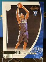 2019-20 Panini Absolute Memorabilia #16 Zion Williamson Rookie Pelicans