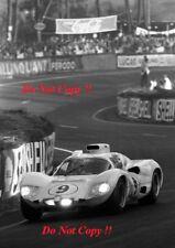 Phil Hill & Jo Bonnier Chaparral 2D Le Mans 1966 Photograph 4