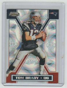 TOM BRADY Patriots 2002 Pacific Exclusive #97 Rare Early Brady FOIL Card Nice