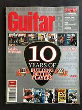 Guitar One Magazine February 2006 10th Anniversary Issue  No ML