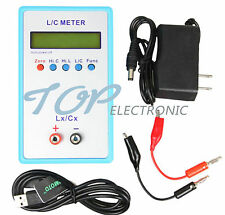 Handheld Capacitance Inductance L/C Meter LCR LC200A Multimeter Electric Bridge