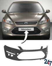 NEW FORD MONDEO MK4 2010 - 2015 FRONT BUMPER WITH DAYTIME LIGHTS AND PDC HOLES