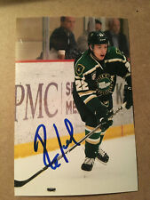 Parker Ford SIGNED 4x6 photo SIOUX CITY MUSKETEERS / TAM USA
