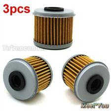 3x Filtre A L'huile Pour HUSQVARNA TXC310R TC250 Honda TRX450R CRF150F CRF250R