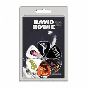 Perri's David Bowie Album Covers Guitar Picks (6 Pack) LP-DB2