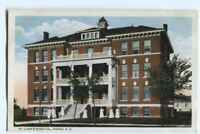Postcard St Luke's Hospital Fargo ND North Dakota