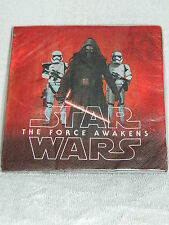 Star Wars the Force Awakens Episode VII Paper Napkins - 16 Ct - 6 1/2 In. Folded