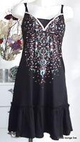 Vive Maria NEU Kleid Naima Dress S 36 black schwarz Baumwolle Tunika Modal new