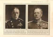 1915 CAMPO GENERALE Haig-Maresciallo Francese